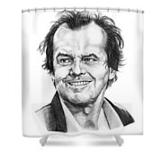 Jack Nickolson  Shower Curtain