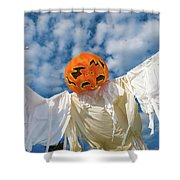 Jack-o-lantern Man Shower Curtain