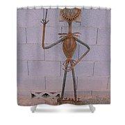 Jack Skellington Shower Curtain by JP Giarde
