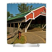 Jackson Bridge Shower Curtain