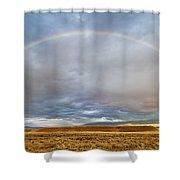 Jackson Hole Rainbow Shower Curtain