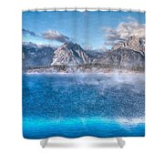 Jackson Lake - Teton National Park Shower Curtain