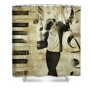 Jackson Notes Shower Curtain