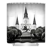 Jackson Square 2 Shower Curtain