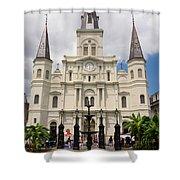 Jackson Square Shower Curtain