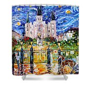 Jackson Square New Orleans Shower Curtain