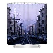 Jackson Street San Francisco Shower Curtain