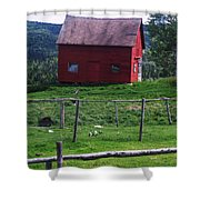 Jackson's Cove Shower Curtain