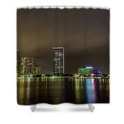 Jacksonville Landing Shower Curtain