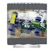 Jacky Ickx - Brabham Bt26 Shower Curtain