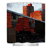 Jacob Javits Reflections Shower Curtain