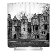 Jacobean Wing At Donegal Castle Ireland Shower Curtain