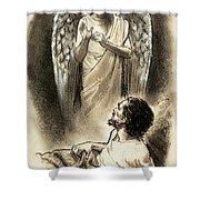 Jacob's Dream Shower Curtain