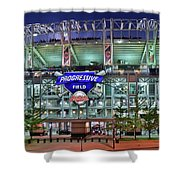 Jacobs Field Shower Curtain