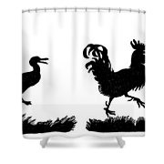 Jacobs: Henny Penny Shower Curtain