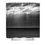 Jacobs Ladder At Dawn Shower Curtain