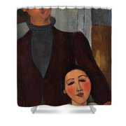 Jacques And Berthe Lipchitz Shower Curtain