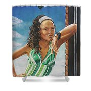Jade Anderson Shower Curtain