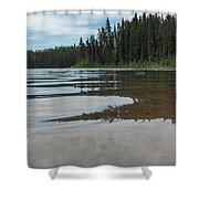 Jade Lake Shower Curtain