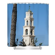 Jaffa, St Peter Church And Monastery Shower Curtain
