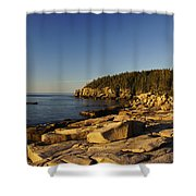 Jagged Coast Of Maine Shower Curtain