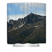 Jagged Mountain Shower Curtain
