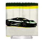 Jaguar C-x75 Shower Curtain