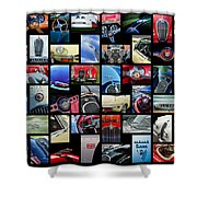 Jaguar Car Art -01 Shower Curtain