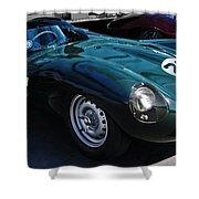 Jaguar D Type Shower Curtain