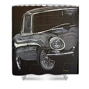 Jaguar E Type Shower Curtain