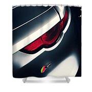 Jaguar F Type S Shower Curtain