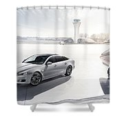 Jaguar Xj Ultimate 2013 Shower Curtain