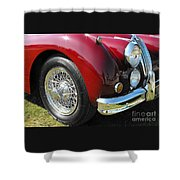 Jaguar Xk Series Shower Curtain