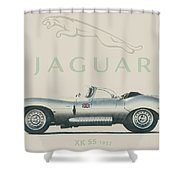 Jaguar Xk Ss Shower Curtain