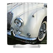 Jaguar Xk150 Shower Curtain
