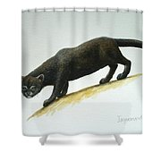 Jaguarundi Shower Curtain