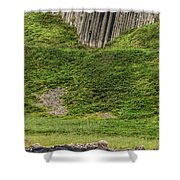 Jail Of Giants Shower Curtain