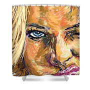 Jaime Pressly Shower Curtain