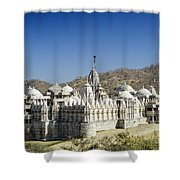 Jain Temple Of Ranakpur Shower Curtain