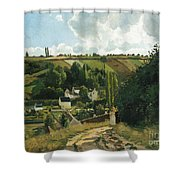 Jalais Hill At Pontoise Shower Curtain