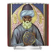 Jalal Ud-din Rumi Of Persia - Rljur Shower Curtain