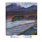 Jalama Beach At Sunset Shower Curtain