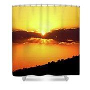 Jalisco Sunset Shower Curtain