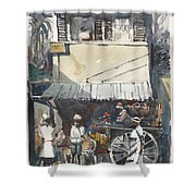 Old Jamaica Country Shower Curtain