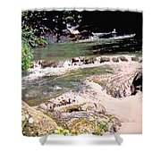 Jamaica Rushing Water Shower Curtain