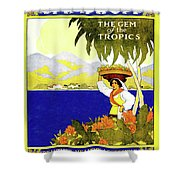 Jamaica, The Gem Of Tropics Shower Curtain