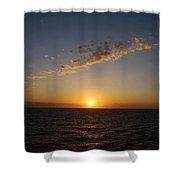Jamaican Sunset Shower Curtain