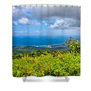 Jamaican Vista Shower Curtain