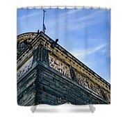 James A. Garfield Memorial Shower Curtain