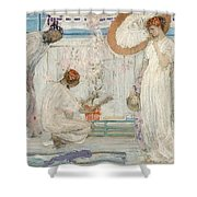 -   James Abbott Mcneill Whistler Shower Curtain
